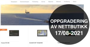 Furuno Nettbutikk_oppgradering_17 august
