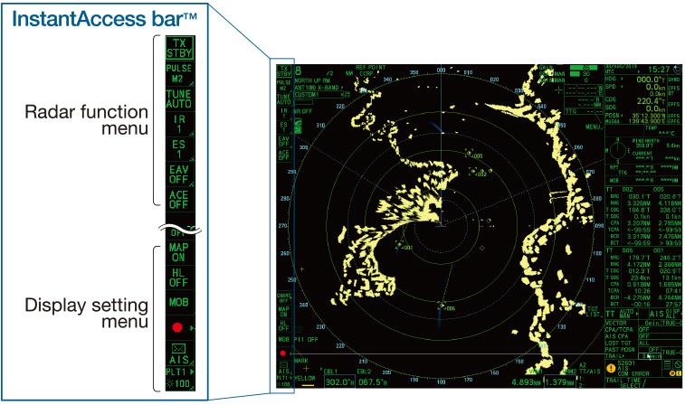 X-band_radar_Furuno_FAR-2xx8-instant-accessbar