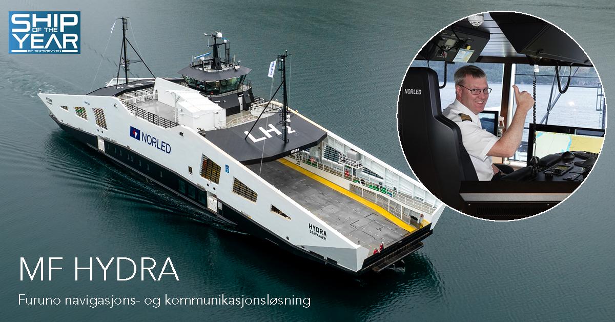 «Ship of The Year» har Furuno navigasjons- og kommunikasjonsløsning!