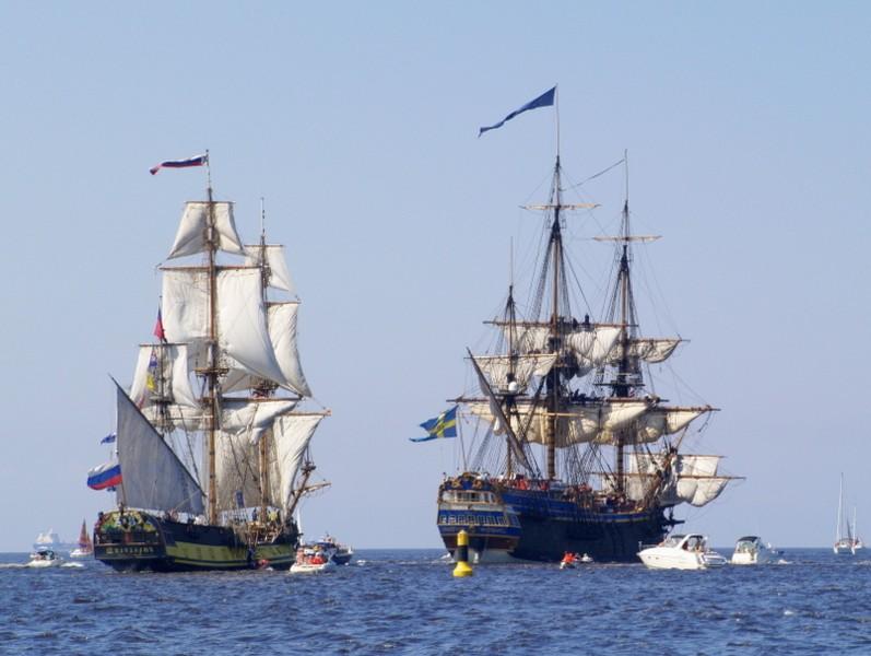 Sponsor for `Tall Ship Races 2015
