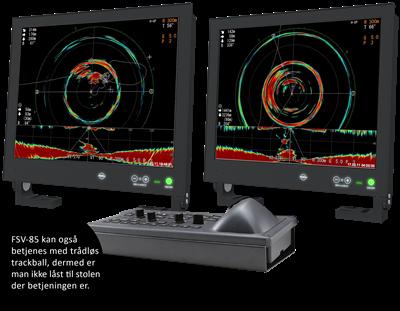 Enkel oppgradering fra sonar FSV-84 til FSV-85