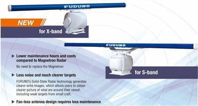 FURUNO lanserer IMO godkjent Solid State Marine X-band radar FAR-2X28/3X20-NXT