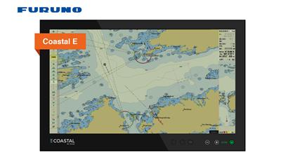 Coastal E – Sikker seilas med oppdaterte kart!