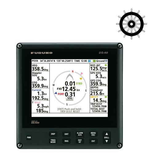 FURUNOs nye Speed log DS-60, mer funksjonalitet i en mindre størrelse