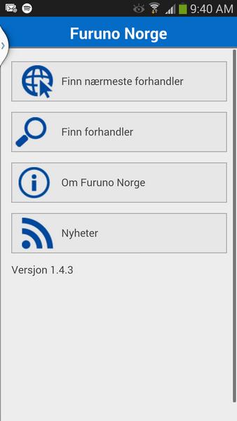 Furuno Norge APP