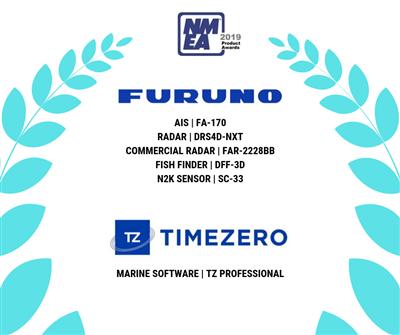 Furuno stakk av med seks NMEA priser