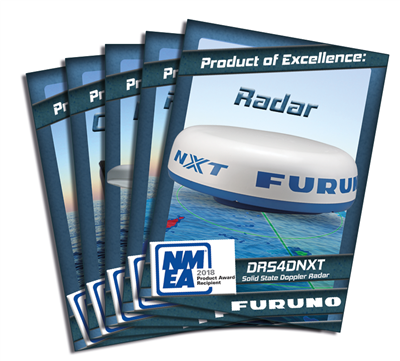 "Furuno with ""Product of Excellence"" awards"