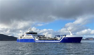 FURUNO navigasjonsløsning på Ship of the Year 2020