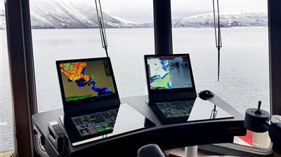 Ny og kompakt broløsning om bord i MV Sifjord